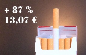 cigarette en augmentation