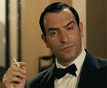Jean Dujardin cigarette