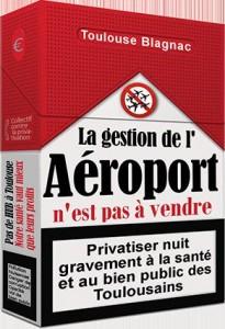 Paquet Manif Toulouse Aéroport