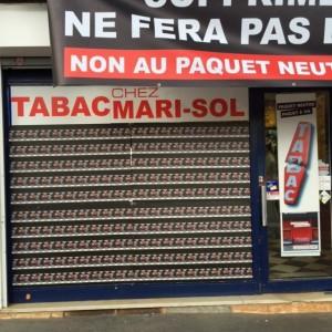 Paquet neutre Vitrine Toulouse