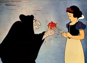 Blanche-neige-pomme empoisonnée