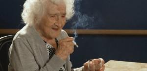 Jeanne Calment Cigarette