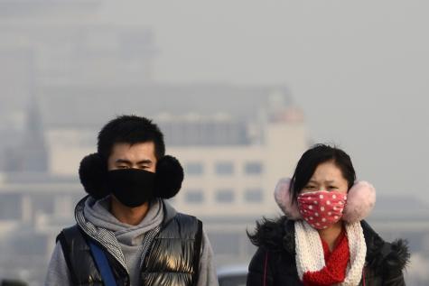 Chine pollution fumeur