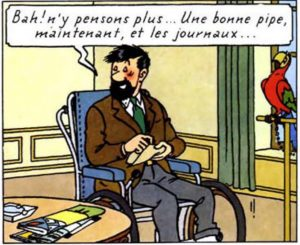 Tintin-Haddock
