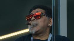 Mondial Russie : Maradona et son cigare